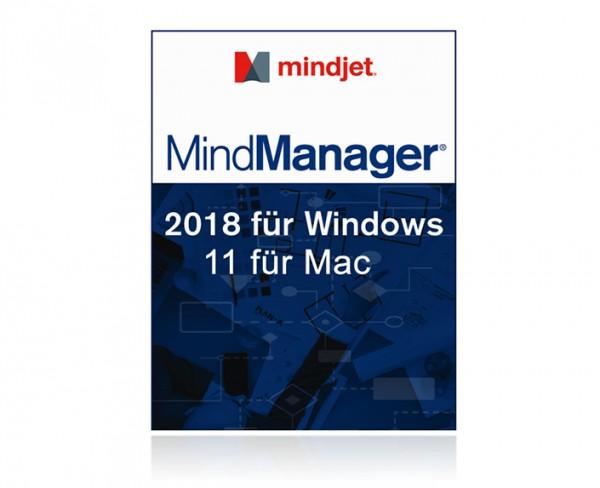 Mindjet MindManager 2018/11 (Bereitstellungsgebühr)