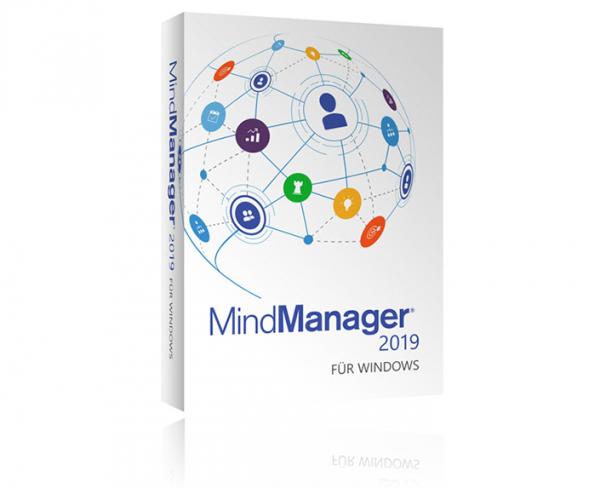 Mindjet MindManager 2019/12 (Bereitstellungsgebühr)